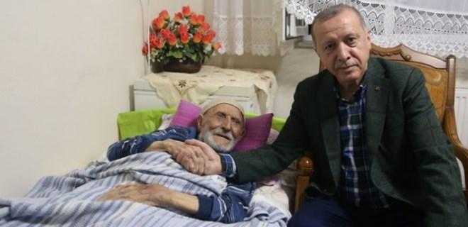 Cumhurbaşkanı Erdoğan'dan bayram ziyaretleri