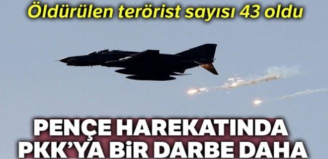 Pençe Harekatı'nda PKK'ya bir darbe daha!